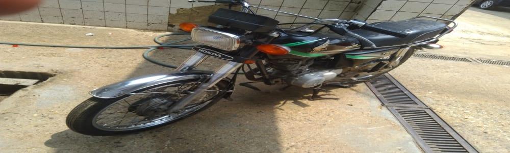 Honda Cg125 2014 motorcycle