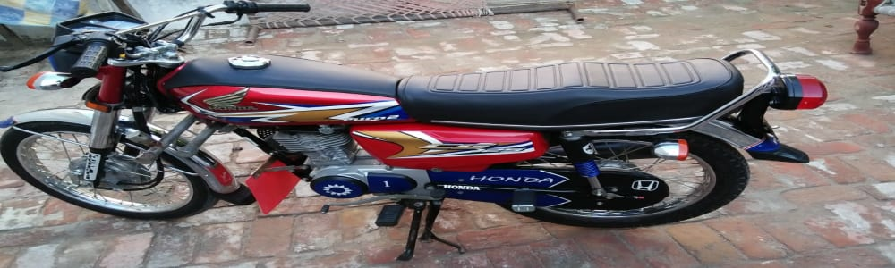 2020 MODEL CG 125 bike