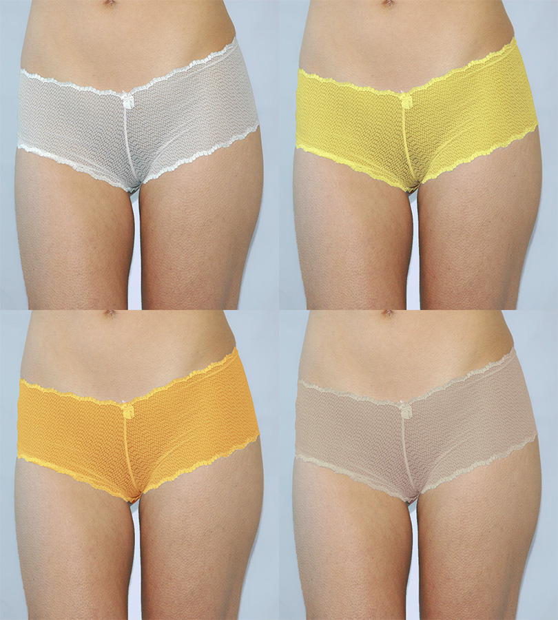 NWT $22 Parisa Verona Boyshort Panty Hipster #0133 Sizes Med//LG// XL in Black