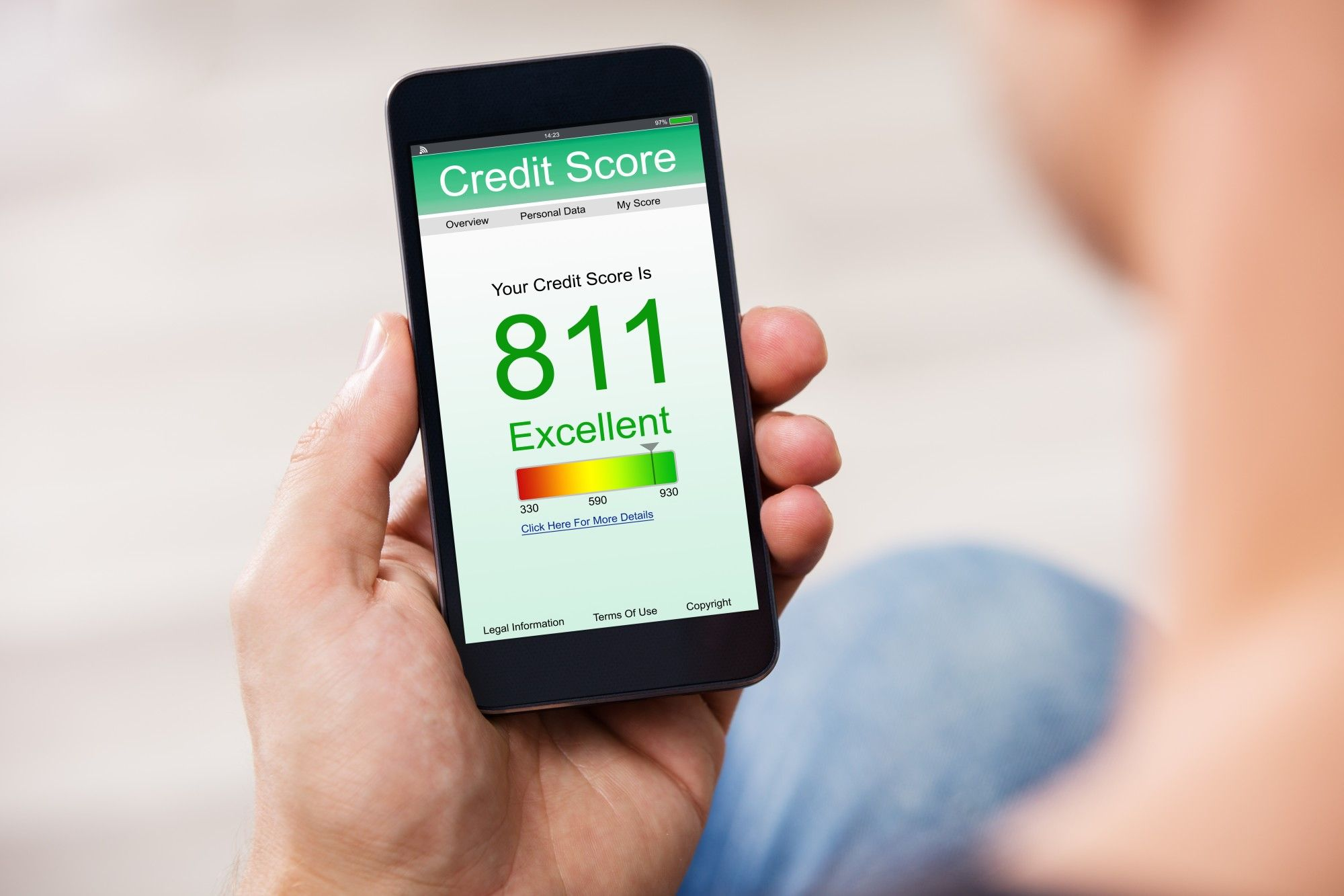 credit score to get a loan