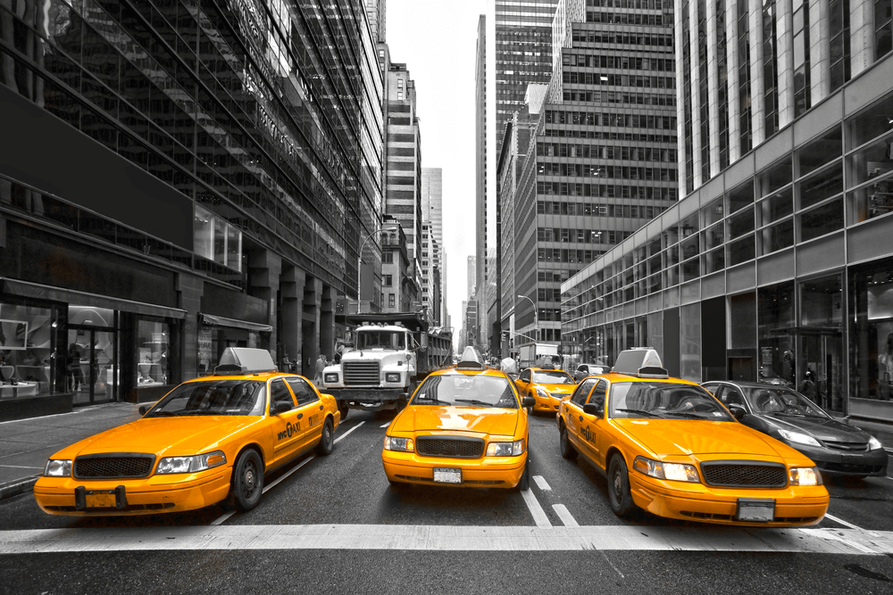 Taxi in new york city