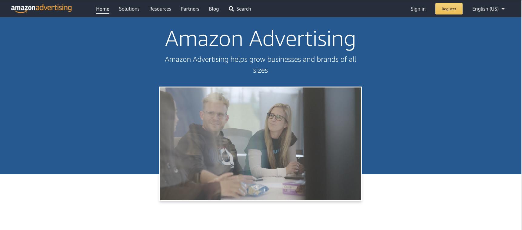 Amazon Advertising Service