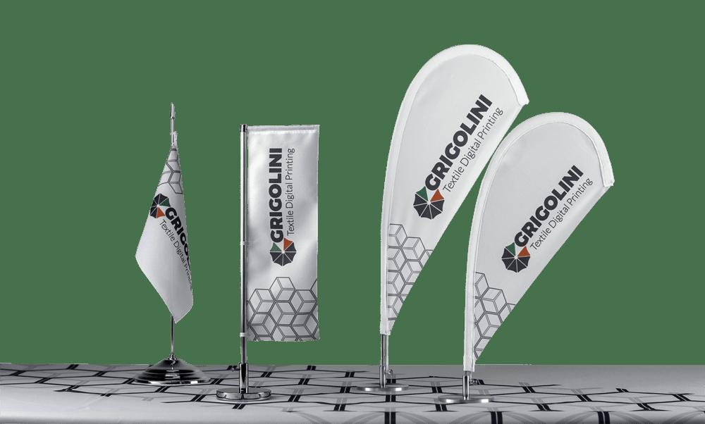 stampa bandiere da tavolo personalizzate