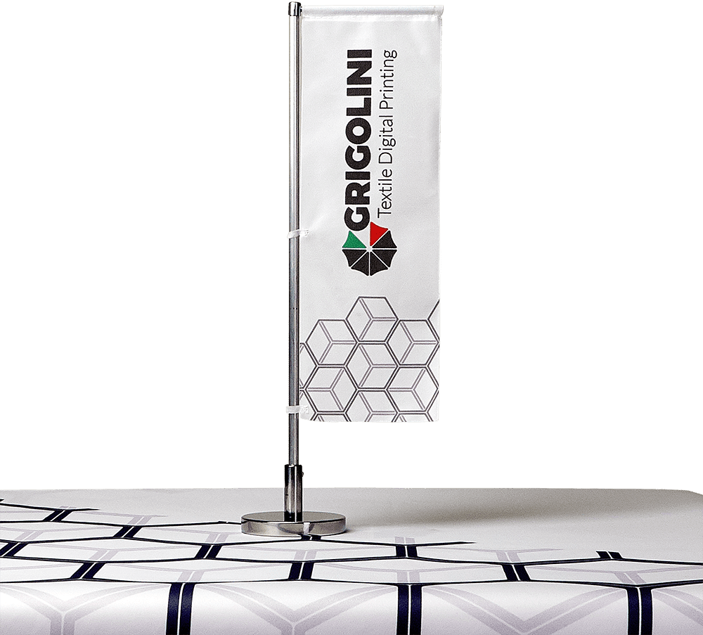 Bandiera Girevole da tavolo