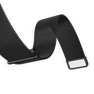 Curea metalica neagra cu magnet pentru Samsung Gear S3 si Vector Luna