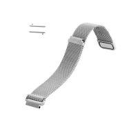 Curea metalica argintie cu magnet pentru Samsung Gear S3 si Vector Luna