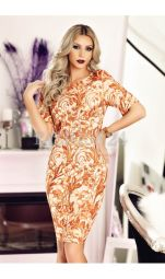 Rochie Brown Shadow
