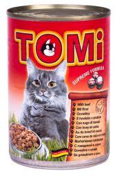 Hrana umeda pentru pisici Tomi cu vita 400 g