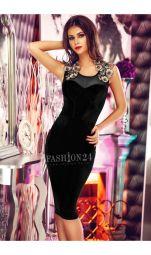 Rochie De Seara Black Velvet