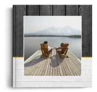 Fotocarte Vacanta in Doi - Standard, coperta moale - Panoramic mic (21x14 cm)