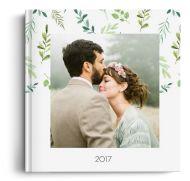 Fotocarte Greenery - Standard, coperta moale - Panoramic mic (21x14 cm)