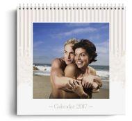 Calendar personalizat - Cappuccino - Calendar de perete cu spirala metalica si agatatoare - Portret mediu (21x29 cm)