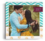 Calendar personalizat - El Si Ea - Calendar de perete cu spirala metalica si agatatoare - Panoramic mediu (29x21 cm)