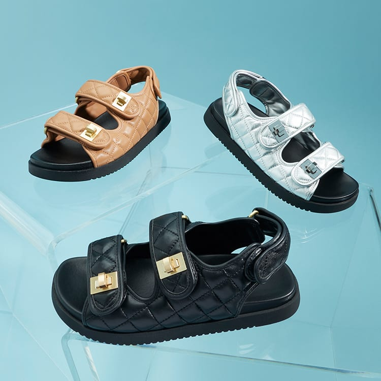 Click the image to shop the Lockstock sandal