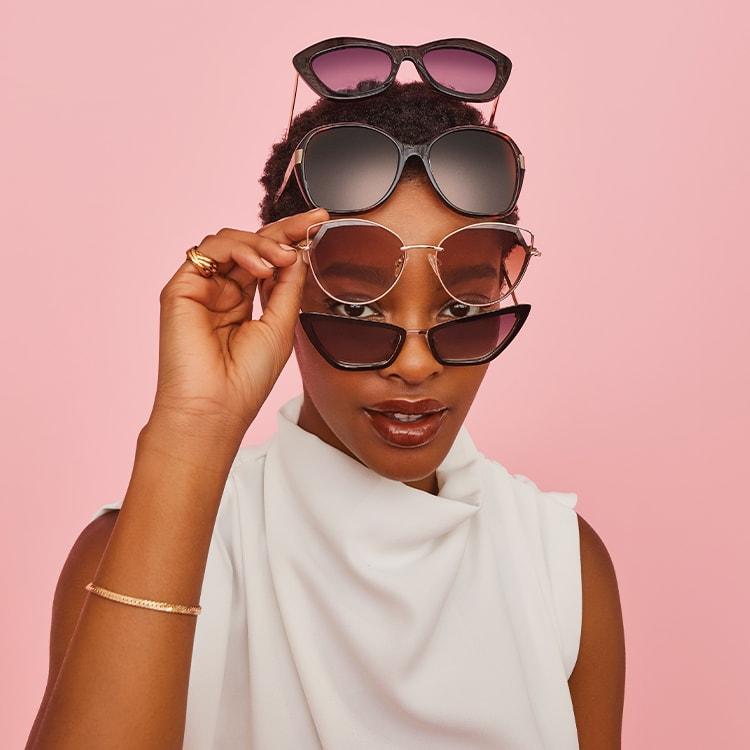Click image to shop women's sunglasses