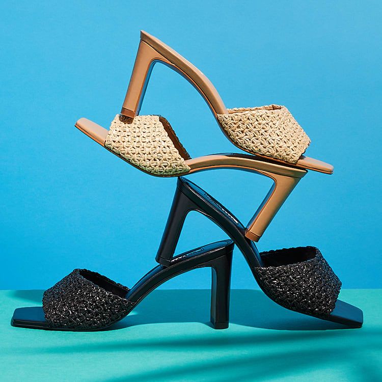 Click image to shop March mules