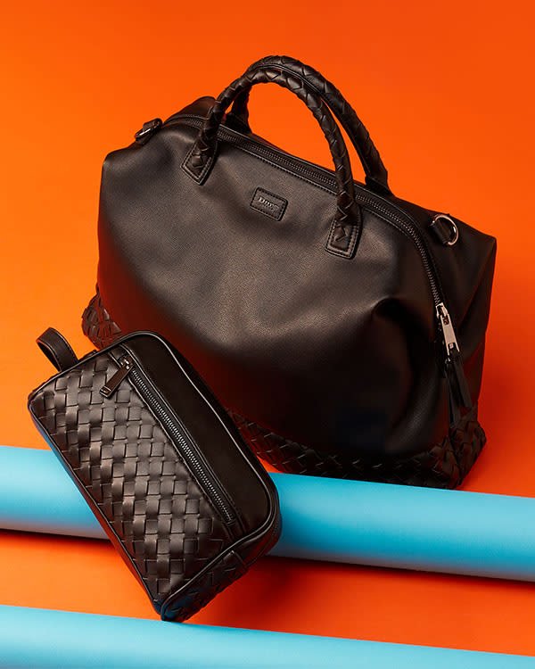 Click image to shop the Nyles holdall