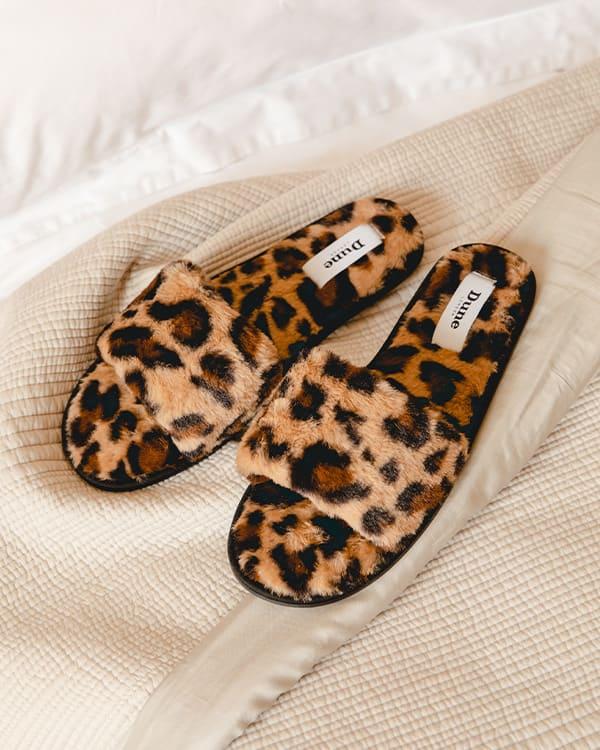 Luxury slider slippers