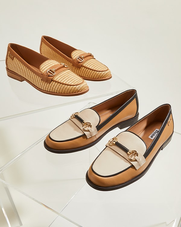 Click image to shop Glossi loafers