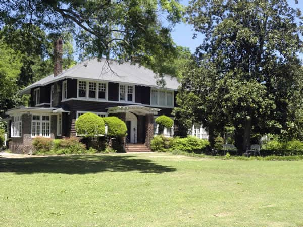 Zelda and Scott Fitzgerald once lived here in this quiet residential section of Montgomery, Zelda's hometown. The interior has many of her paintings and family artifacts exhibited.