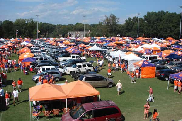 Visiting tailgaters is a culinary experience with few equals.