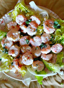 Shrimp Rémoualade is perfect for warm weather dining.