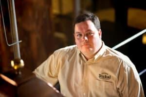 John Lunn is the Master Distiller for George Dickel.