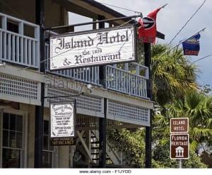 Cedar Key's Island Hotel represents the grandeur of original Florida.