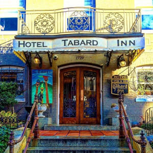Georgetown's Hotel Tabard Inn combine's luxury with Washington's history