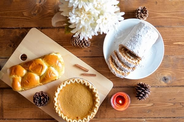 breads and pie