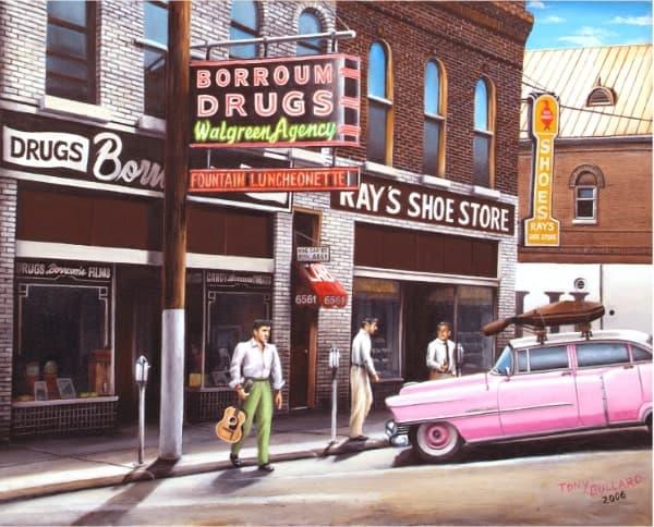 """The Blue Moon Boys,"" Elvis in Corinth, by Tony Bullard"