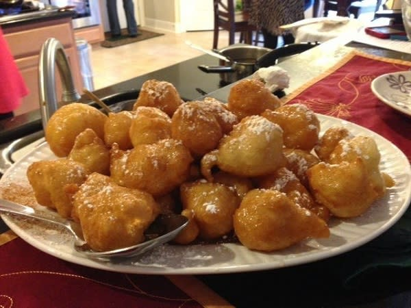Little Greek Donuts are feather-light delicacies.