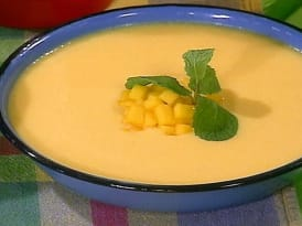 Chilled Mango Soup