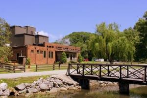 The George Dickel Distillery in Cascade Hollow