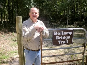 "Noted historian Dale Cox is the author of ""The Ghost of Bellamy Bridge,"""