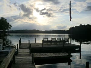 Lake Talquin is one of the country's top fishing destinations