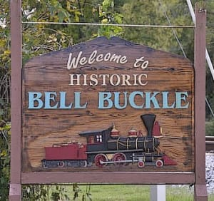 Bell Buckle City Welcome