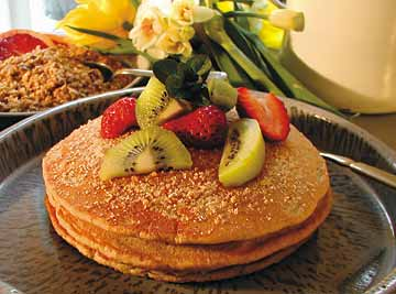 Whole Grain Griddle Cakes
