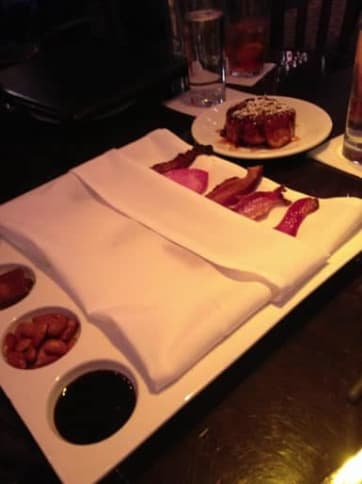 A flight of bacon