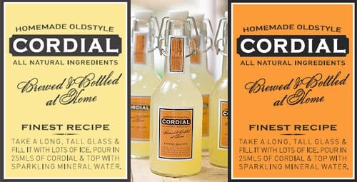 cordial-vintage-label
