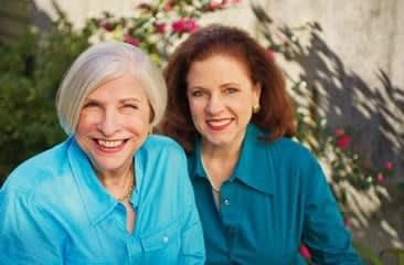Nathalie Dupree, on left, with co-author Cynthia Graubart