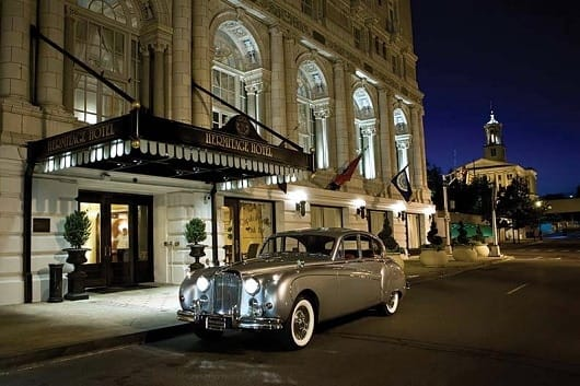 Arrive in Style for Valentine's at Nashville's Hermitage
