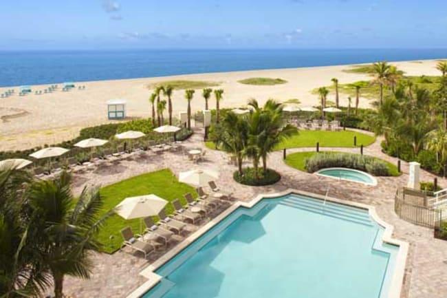 Main Resort Pool and Tiki Bar