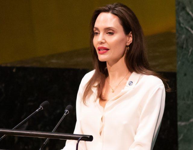 Анджелина Джоли выступила в штаб-квартире ООН