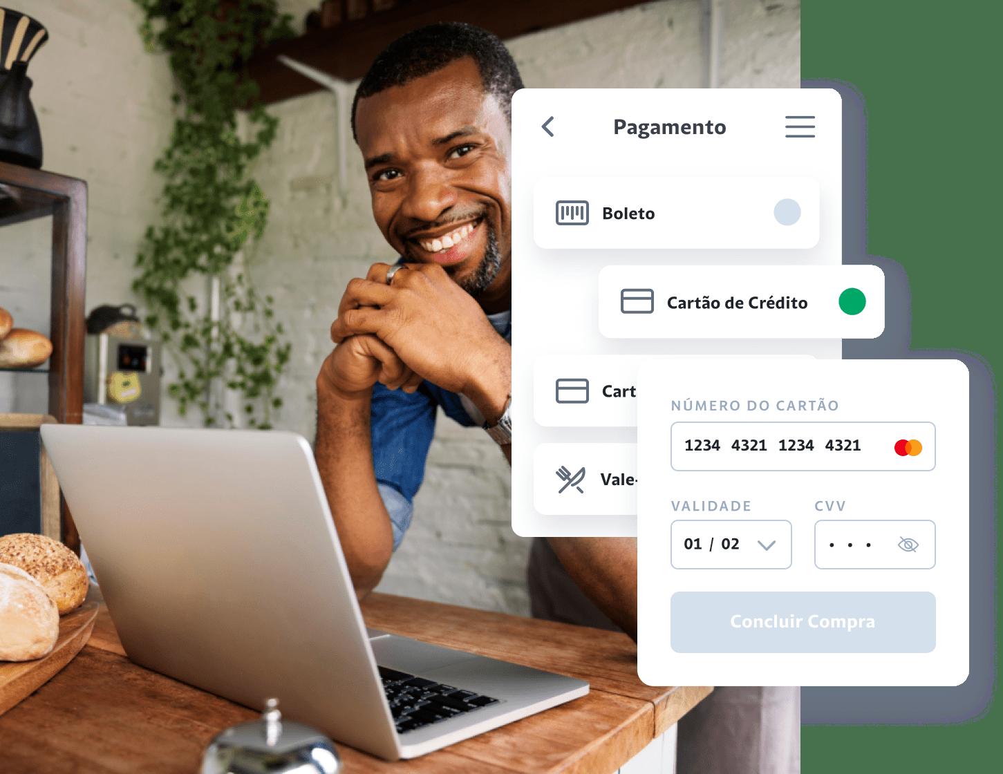Soluções de pagamentos digitais