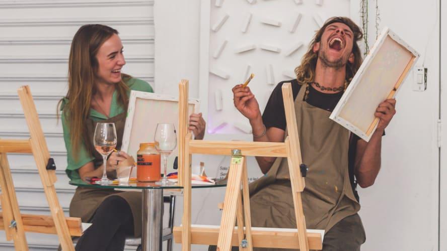 6 dicas e 3 conselhos do Paint & Drink para se reinventar na quarentena