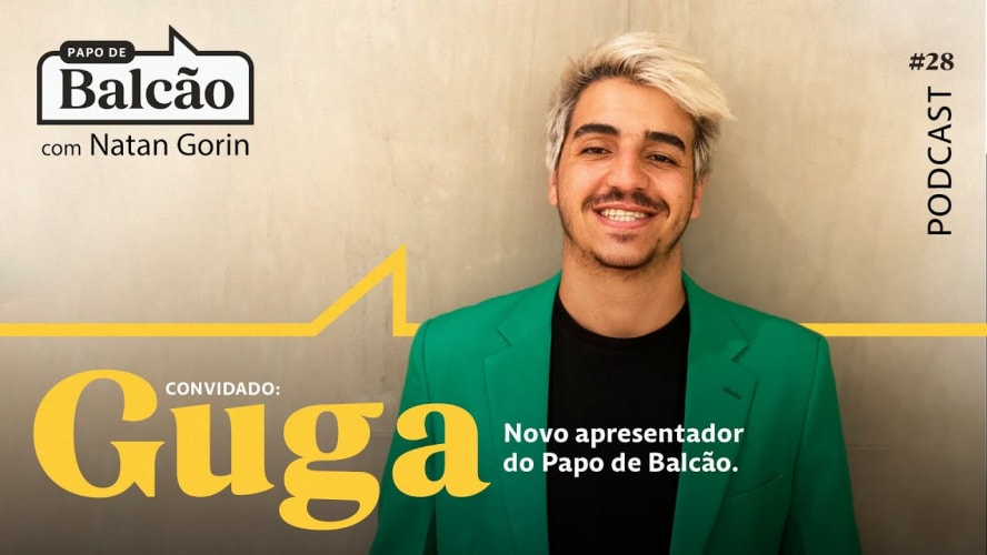 Conheça o Guga, empreendedor e novo apresentador do programa