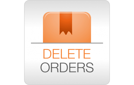 Delete Orders Magento extension