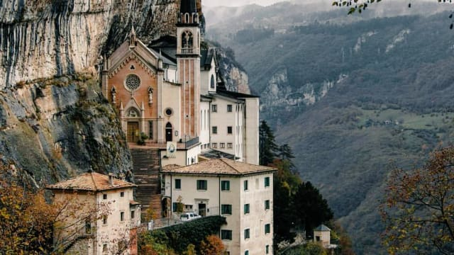 Madonna della Corona - a Church in the Rocks