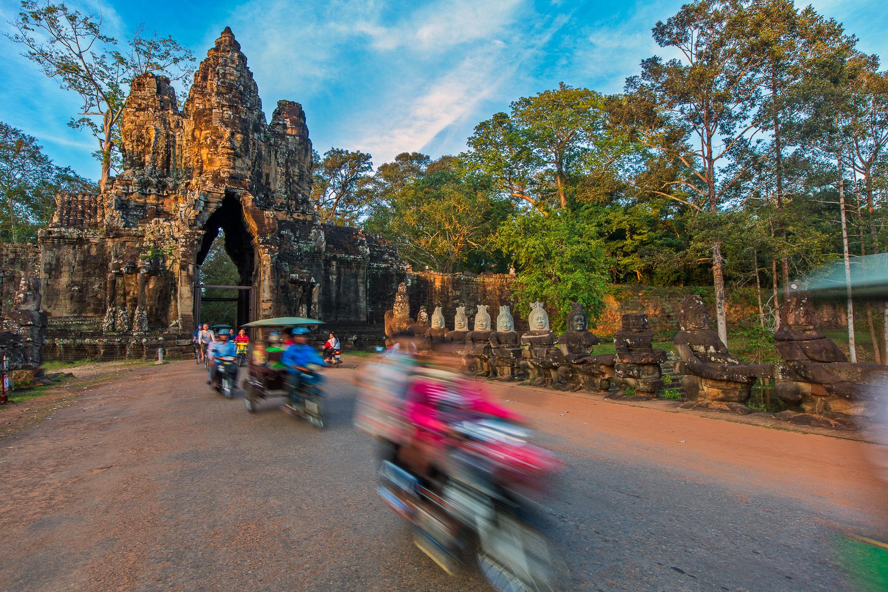 Gates of Angkor Wat
